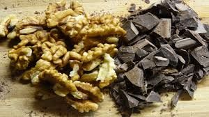 walnuts and cocoa