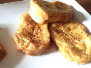 Same recipe but using white bread.